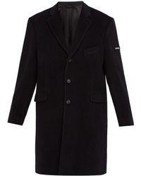 Balenciaga - Single-breasted Wool-blend Coat - Lyst