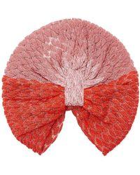 Missoni - Degradé Knitted Turban Hat - Lyst
