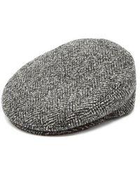 Isabel Marant - - Gabor Herringbone Wool Cap - Womens - Grey - Lyst