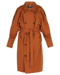 Y. Project - - Trench-coat à double boutonnage - Lyst