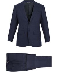 Thom Sweeney - Single-breasted Wool Suit - Lyst