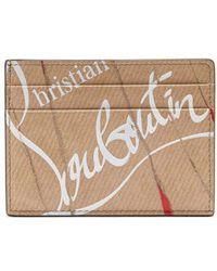 Christian Louboutin - Kios Smooth Leather Cardholder - Lyst