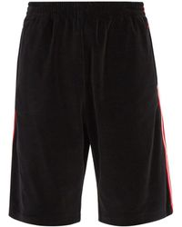 Gucci - Side Stripe Shorts - Lyst