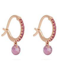 Raphaele Canot - - Set Free Sapphire & Rose Gold Earrings - Womens - Pink - Lyst