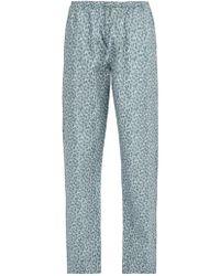 Zimmerli - Poetic Floral-print Cotton Pyjama Trousers - Lyst