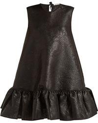 Cecile Bahnsen - Lala Silk-cloqué Mini Dress - Lyst