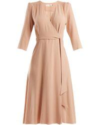 Goat - Glenda Cady Wrap Dress - Lyst