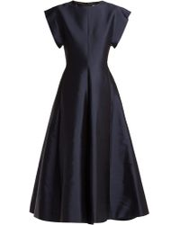 The Row - Whitney Silk-mikado Gown - Lyst