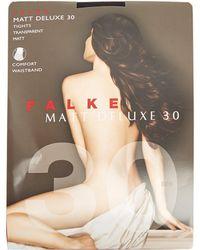 Falke | Matt Deluxe 30-denier Tights | Lyst
