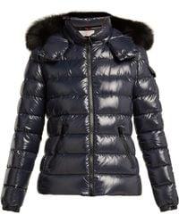 Moncler - Badyfur Nylon Quilted Jacket - Lyst