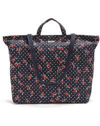 Miu Miu - Cherry-print Denim Tote Bag - Lyst