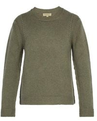 Burberry - Knitted Cashmere Jumper - Lyst