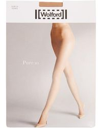 Wolford - Pure 10 Tights - Lyst