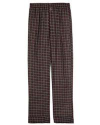 Morpho + Luna - Maya Cotton And Silk-blend Pyjama Trousers - Lyst