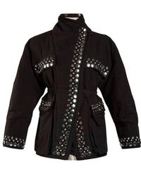 Isabel Marant - Emmy Reversible Stud-embellished Jacket - Lyst