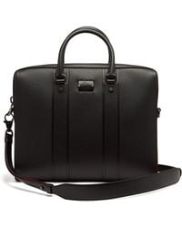 Christian Louboutin - Streetwall Leather Briefcase - Lyst