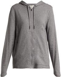 Falke - Zip Front Hooded Sweatshirt - Lyst