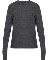Rag & Bone - Giles Crew-neck Ribbed-knit Wool Jumper - Lyst