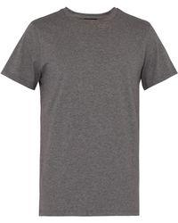 A.P.C. - Jimmy Cotton Jersey T Shirt - Lyst