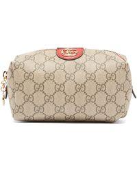 b2edc19670e Gucci - Ophidia Gg Supreme Canvas Make Up Bag - Lyst