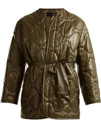 Nili Lotan   Quilted Tie-waist Jacket   Lyst
