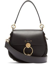Chloé - Tess Medium Leather Cross-body Bag - Lyst
