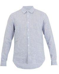 Orlebar Brown - Morton Striped Cotton Shirt - Lyst