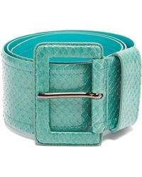 Carolina Herrera - Watersnake Waist Belt - Lyst