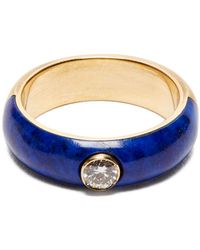 Marc Alary - Belsa Diamond And 18kt Gold Ring - Lyst