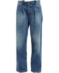 Raey - Fold Dad Baggy Boyfriend Jeans - Lyst