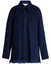Marques'Almeida | Frayed-edge Denim Jacket | Lyst