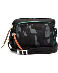 Prada - Camouflage-print Nylon Shoulder Bag - Lyst