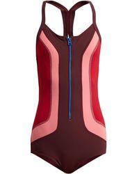 Isabel Marant - Toan Colour Block Swimsuit - Lyst