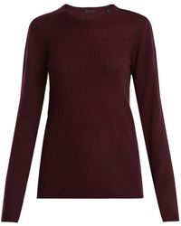 ATM - Crew Neck Cashmere Sweater - Lyst