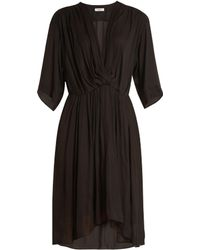 Étoile Isabel Marant | Magda V-neck Gathered Dress | Lyst