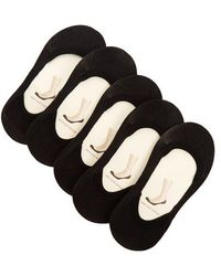 Falke - Set Of Five Step Invisible Liner Socks - Lyst
