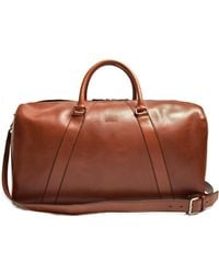 Brioni - Empire Escape Leather Holdall - Lyst