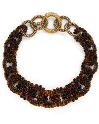 Rosantica By Michela Panero - Carramato Short Beaded Necklace - Lyst