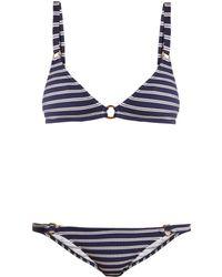 Melissa Odabash - Montenegro Triangle Bikini - Lyst