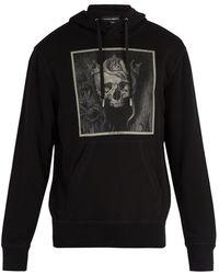 Alexander McQueen - Skull-print Hooded Sweatshirt - Lyst
