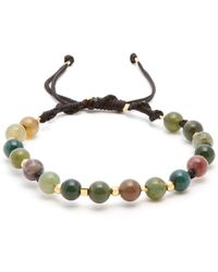 Black Dakini - Moss Agate And Gold Vermeil Bracelet - Lyst