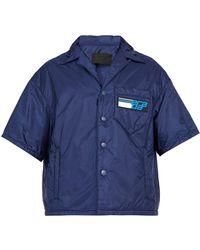 Prada - Padded Short-sleeved Shirt - Lyst