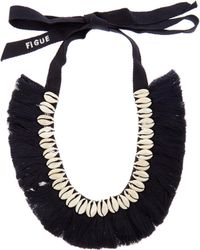 Figue - Shell And Tassel Necklace - Lyst