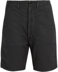 The Great - The Army Low-slung Woven Shorts - Lyst