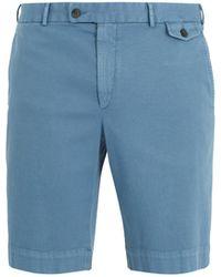 Boglioli - Slim-fit Cotton-blend Shorts - Lyst