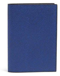 Valextra - Grained-leather Passport Holder - Lyst