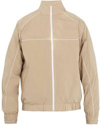 Y. Project - Piping Detail Shell Track Jacket - Lyst