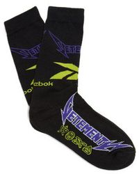 Vetements - Logo-intarsia Socks - Lyst