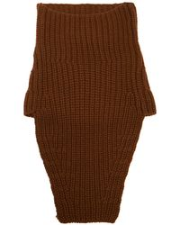 Prada - Knitted Cashmere Snood - Lyst