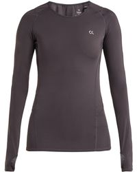 Calvin Klein - Compression Long Sleeved T Shirt - Lyst